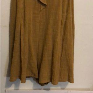 Lush Dresses - Lush mustard jumpsuit /short size small